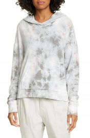 James Perse Tie Dye Crop Hoodie   Nordstrom at Nordstrom
