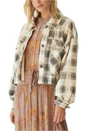 James Plaid Jacket by Free People at Nordstrom