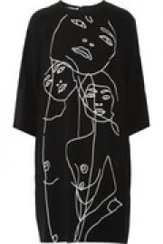 James embroidered crepe dress at The Outnet