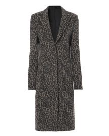 Jamson Feline Mocha Coat at Intermix