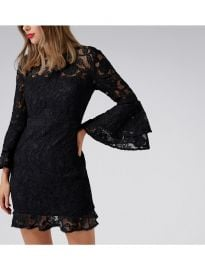 Jane Lace Flare Sleeve Dress at Forever New