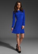 Janes blue dress by Tibi at Revolve