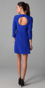 Janes blue dress with open back at Shopbop at Shopbop