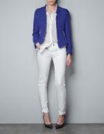 Janes blue jacket at Zara