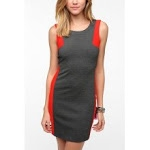 Jane's grey and red dress at Urban Outfitters