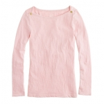Jane's pink boatneck sweater at Jcrew at J. Crew