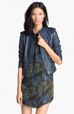 Janner leather jacket by Theyskens Theory at Nordstrom