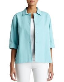 January stretch topper at Lord & Taylor