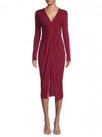 Jason Wu - Fluid Jersey Ruched Twist Dress at Saks Fifth Avenue