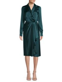 Jason Wu Silk Wrap Dress at Saks Fifth Avenue