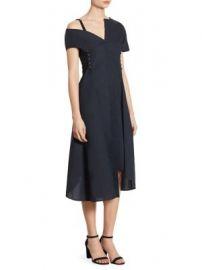 Jason Wu - Asymmetrical Cotton Dress at Saks Fifth Avenue