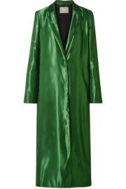 Jason Wu Collection - Satin coat at Net A Porter