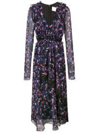 Jason Wu Collection Gathered Floral Dress - Farfetch at Farfetch
