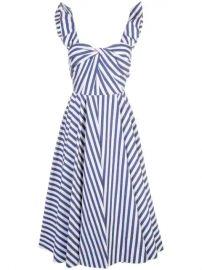 Jason Wu Collection Striped Flared Dress - Farfetch at Farfetch