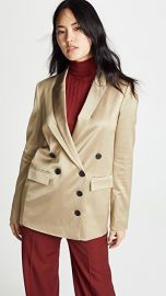 Jason Wu Grey Gold Shine Suiting Jacket at Shopbop