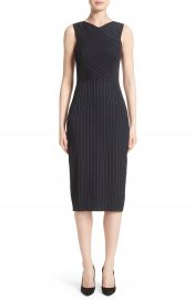 Jason Wu Pinstripe Stretch Dress at Nordstrom