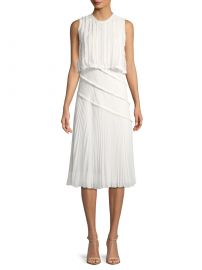 Jason Wu Pleated Popover Dress at Saks Fifth Avenue