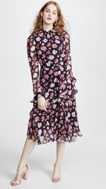 Jason Wu Printed Asymmetrical Dress at Shopbop
