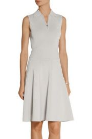 Jason Wu Sleeveless Polo Dress W Flounce Hem in Grey at Neiman Marcus