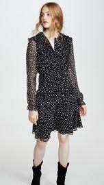Jason Wu Small Dot Long Sleeve Dress at Shopbop