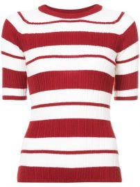 Jason Wu Striped Knitted Top at Farfetch