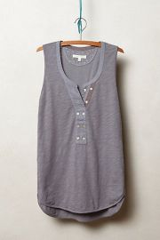 Jasper Henley Tank in Grey at Anthropologie