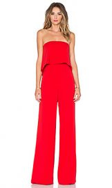 Jay Godfrey Moore Jumpsuit in Red from Revolve com at Revolve