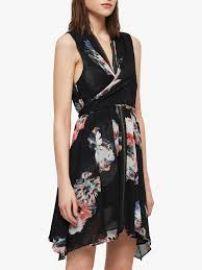 Jayda Violy Dress at All Saints