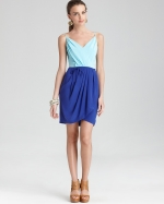 Jayne colorblock silk dress by Yumi Kim at Bloomingdales
