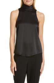 Jazlyn Silk Draped Neck Top by Cinq a Sept at Nordstrom