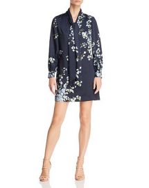 Jazmiin Graceful Tie-Neck Dress at Bloomingdales
