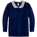 Jcrew wool peter pan collar sweater at J. Crew