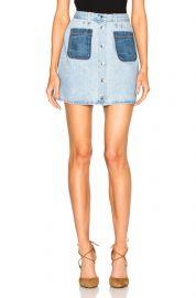 Jean Mini Santa Cruz Skirt by Rag and Bone at Forward