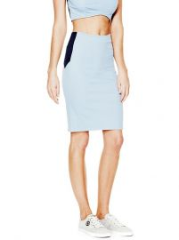 Jeancare Pencil Skirt at Guess
