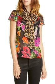 Jeannie Bow Blouse by Alice  Olivia at Nordstrom