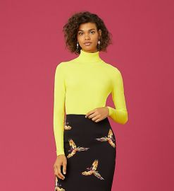 Jelena Two Turtleneck Top at DvF