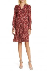 Jenesse Leopard-Print Wrap Dress by Equipment at Nordstrom Rack