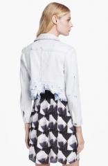 Jenja Wupp Denim Jacket by Theyskens Theory at Nordstrom