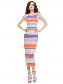Jenner Striped Dress by Alice + Olivia at Alice + Olivia
