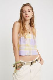 Jenni Linen Square Neck Cami at Urban Outfitters