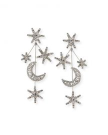 Jennifer Behr Andromeda Crystal Earrings at Neiman Marcus