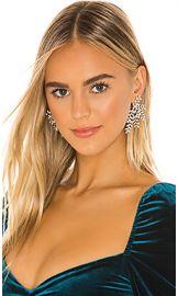 Jennifer Behr Viinessa Earring in Crystal from Revolve com at Revolve