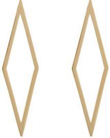 Jennifer Fisher Hollow Diamond Ignite Drop Earrings at Barneys