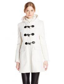 Jenny Toggle Coat by Bcbgmaxazria at Amazon