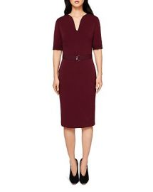 Jesabil Belted Sheath Dress at Bloomingdales