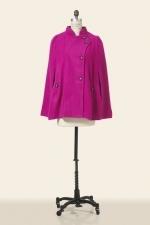 Jess Days pink cape at Corey Lynn Calter