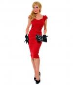 Jess Days red dress at Unique Vintage