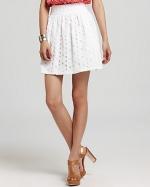 Jess Days white skirt at Bloomingdales