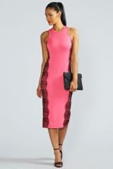 Jess Lace Panel Dress at Boohoo
