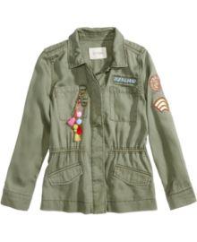 Jessica Simpson Emilia Utility Jacket at Macys